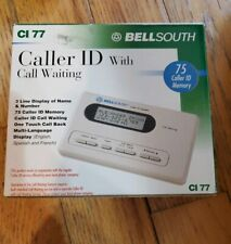 Vintage 1995 BellSouth Caller ID & Call Waiting Model CI-77 75 Caller ID Memory