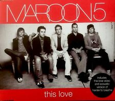 Maroon 5 - This Love (Promo CD 2004) Enhanced With Video & Acoustic Track