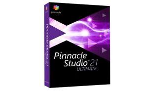 Pinnacle Studio 21 UTLIMATE Video Editing Software PC Windows NEW