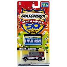 Matchbox Across America NV Nevada International Armored Car #36 50th Birthday