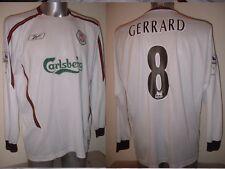 Liverpool GERRARD Adult XL Reebok Shirt Jersey Soccer Football England L/S 2004