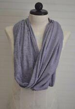 Ladies LULULEMON Lilac Coal Wee Stripe Purple Vinyasa Rulu Scarf Wrap