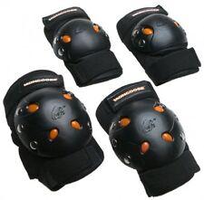Bmx Bike Gel Knee and Elbow Pads Skateboard Skating Hockey Inline Protection