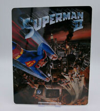 SUPERMAN 2 - Glossy Bluray Steelbook Magnet Cover (NOT LENTICULAR)