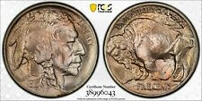 1913 Type One 5c PCGS MS66+ Gem Plus Uncirculated Buffalo Nickel Variety 1 Coin
