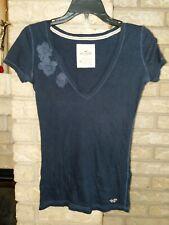 Hollister V-Neck T-Shirt Size XS
