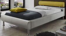 Markenlose Bettgestelle ohne Matratze aus Kunstleder 140cm x 200cm