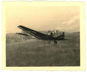 Orig. Foto Junkers Ju 52 Flugzeug KGr.zbV.9 im Flug über Norwegen 1942 Luftbild