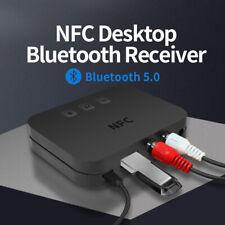 3.5 мм Bluetooth 5.0 приемник беспроводной разъем Aux NFC для 2RCA аудио стерео адаптер