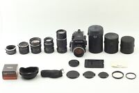 【 MINT + 4 Lenses 】 Mamiya m645 1000s 80mm f/1.9 & 45/150/210mm From JAPAN #581