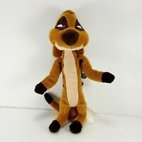 "Walt Disney Mini Bean Bag Timon from The Lion King 8"" Plush Stuffed Animal NEW"