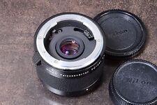 Superbo! Nikon 2x moltiplicatore di focale tc-201 AI-S Raccordo con tappi anteriore e posteriore