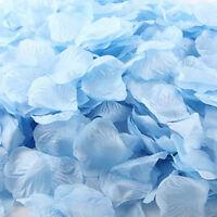 Wedding Party Silk Flower Rose Petals Table Confetti Decoration Blue 1000 PCS