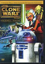 The CLONE WARS Stagione 1 volume 2 (5 episodi della serie animata)