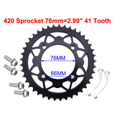 420 41T 76mm Rear Chain Sprocket For Chinese Pit Dirt Trail Bike Motorcycle