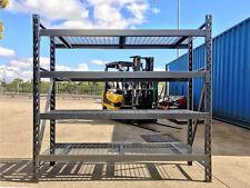 900KG Per Shelf Super Heavy Duty Longspan Shelving Long Span Garage Warehouse