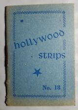 Hollywood Strips Booklet No. 18 Netherlands Maple Leaf Bubble Gum Premium