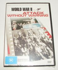 DVD - Attack Without Warning - New & Sealed