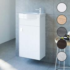 Waschbecken mit Unterschrank 2tlg Waschtisch Badmöbel Set 40 cm Badezimmer WC