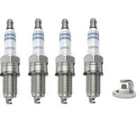 Spark Plugs x 4 Bosch Fits Ford Ka RU8 Fiat 500 312 Punto Stilo Mito 955 1.2 1.4