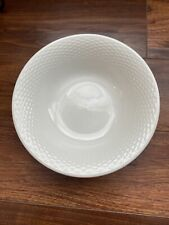 Serving Bowl Capri Basketweave Tabletops Unlimited 518372 White Gallery