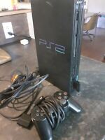 Sony Playstation 2 PS2 Fat Console SCPH-30001 R w/OEM Controller & Memory Card