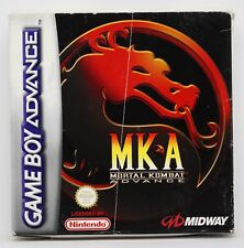 MORTAL KOMBAT ADVANCED - GAMEBOY ADVANCE GBA GAME BOY - PAL ESPAÑA