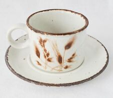 Midwinter Stonehenge Wild Oats Coffee Cup with Saucer