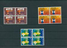 Schweiz Switzerland Jahrgang 1977 Mi. 1109-1111 gestempelt 4-er Bl weitere Shop