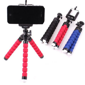 360 Mobile Phone Holder Flexible Octopus Tripod Bracket For Selfie Stand Monopod