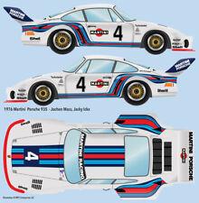 1976 Martini Porsche 935 #4  Water Transfer Decals 1/24 scale for Tamiya #24001