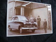 Foto Ford Taunus Bra Kennzeichen ca 60er  7 x10 cm