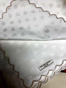 Fabbri Ricami (Shaxted) Armonia Tablecloth & Napkins