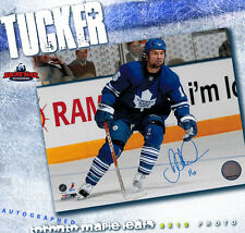 DARCY TUCKER Toronto Maple Leafs Autographed 8 x 10 Photo - 70433