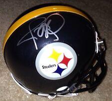 Jerome Bettis Signed Pittsburgh Steelers Mini Helmet