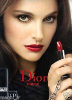 Publicité 2014 - Rouge de DIOR