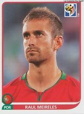 N°553 RAUL MEIRELES # PORTUGAL STICKER PANINI WORLD CUP SOUTH AFRICA 2010