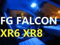 BLUE LED Interior Light Kit Fits Ford Falcon FG XR6 XR8 SEDAN Turbo 2013