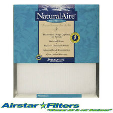MERV10 15-1/2 x 29-1/2 x 1 NaturalAire Electrostatic Washable Filter 16 x 30 x 1
