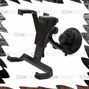 Tablet Holder With Windshield Suction Cup Headrest Mount For Car Universal Fit