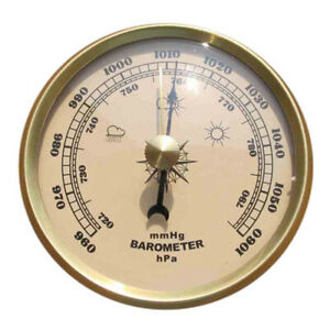 Weather Station Analog Accuracy Barometer Wall Hanging Thermometer Hygrometer.