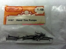Chooch Enterprises~#5167~O-Scale/1:48~(12) Hand Tire Pumps~White Metal~OOP