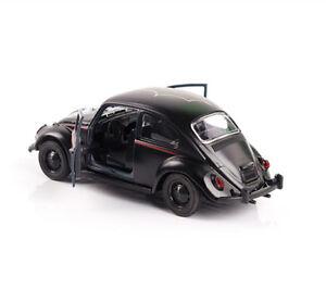 1:32 Scale Diecast Black Beetle Classic Car Vehicle Model Children Gift