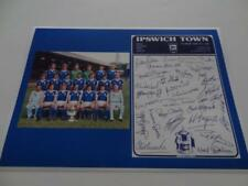 Ipswich Town Fc 1978 Fa Cup Final Kevin Beattie Bobby Robson + 25 Signed Reprint
