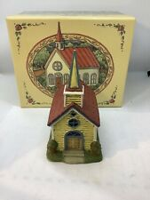 Susan Winget - Valley Church - Vintage 1998 Lang & Wise Town Hall Collectibles