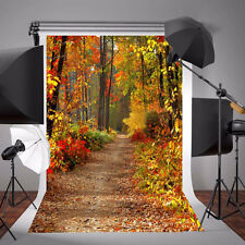 5x7FT Autumn Fall Forest World Photo Props Backdrop Photography Vinyl Background