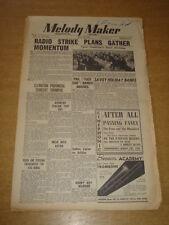 MELODY MAKER 1948 JULY 10 RADIO STRIKE DUKE ELLINGTON GERALDO PHIL HARRIS +