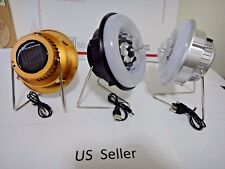 2 in 1 Solar rechargeable outdoor camping disco or Lantern lamp USB US Seller