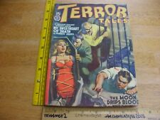 TERROR TALES November 1940 pulp magazine VINTAGE BONDAGE Francis James R Gray