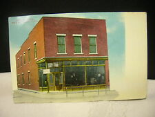 Vintage 1912 New London, Ohio Postcard Post Office Post Card Buckeye Exchange